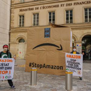 Action contre l'expansion d'Amazon